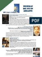 Catálogo de Cine Abril 2013