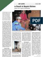 Gegen den Rauch in Nepals Küchen