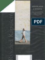 Kapuściński Ryszard - Spotkanie z innym - Encountering the Other