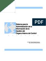 Propuesta del Sistema para Administrar la Información de la Gestión del OIC