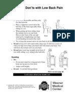 Gambar Lowback Pain