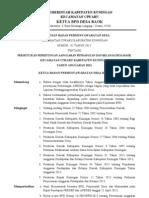 Keputusan Bpd Apbdes Pungutan 2013