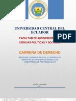 Plan de La Carrera de Derecho 2011blogspot m.n