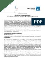 Sandra Sassaroli Manuali di efficacia e individualità del paziente