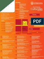 Programacion Cultura UCSC Mayo 2013