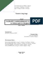 Tazrawt taseknirmant n umawal n tfellaḥt n teqbaylit (Etude terminographique du lexique agricole kabyle) - Mouhand ou Ramtane IGHIT
