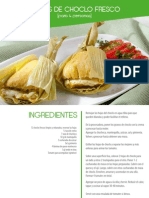 Tamales de Choclo Fresco