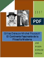 Gilles Deleuze Michel Foucault El Continente Fascinante de La Filosofc3ada Moderna2