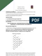 Quimica_guia de Ejercicios Configuracin