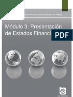 CONTA  III PRESENTACIÓN DE ESTADOS FINANCIEROS