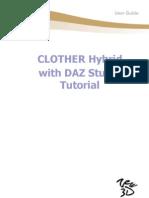 CLOTHER Hybrid with DAZ Studio Tutorial