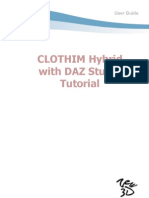 CLOTHIM Hybrid with DAZ Studio Tutorial