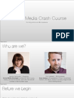 Social Crash Course / Social for Startups