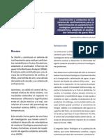 Construcción y validación de un sistema de confinamiento para la determinación de parámetros fisiológicos poscosecha en frutos climatéricos, adaptado al analizador infrarrojo de gases IRGA
