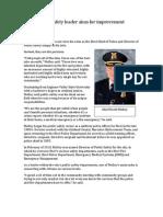 Novi Chief of Police Profile