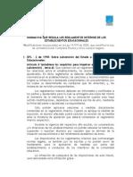 Normativa Que Regula Los Reglamentos Internos de Los Establecimientos Educacionales
