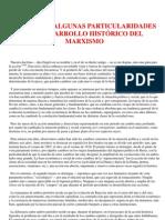 Acerca de Algunas Particularidades Del Desarrollo Historico Marxista - Lenin (Articulo)