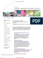 United Cerebal Palsy One Stop Resource Guide