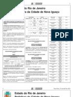diario oficial nova iguaçu - 23 de abril de 2013