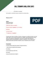 SEÑALES DEL TIEMPO DEL FIN (2P)