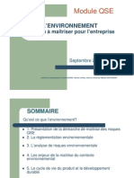 Microsoft PowerPoint - Cours Environnement 2009.Ppt