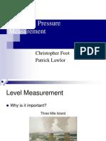 Level and Pressure Measurement
