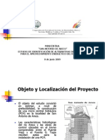 2. Pequeño Aprovechamiento Hidroeléctrico Rio Areco . CEOSP