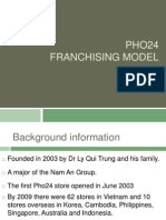 Pho24 franchising power point