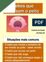 11 Bebês que recusam o peito (lição 11)