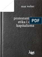 [Max Weber] Protestantska Etika i Duh Kapitalizma