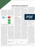 Estimate Die-junction Temp in Power ICs