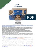 JEUNESSE - Bisnis Dengan Produk Paling Mutakhir