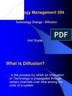 Technology Change - Diffusion