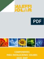 Catalogo Material Solar Caleffi