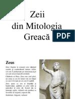 Zeii din Mitologia Greacă