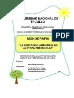 Monografia . Educacion Ambiental