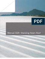 Manual SSR_ Standing Seam Roof