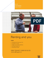 Tenancy Agreement  Renting and You (English)