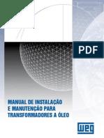 WEG Transformadores a Oleo Instalacao e Manutencao 751 Manual Portugues Br