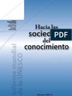 Sociedad del Conocimiento UNESCO