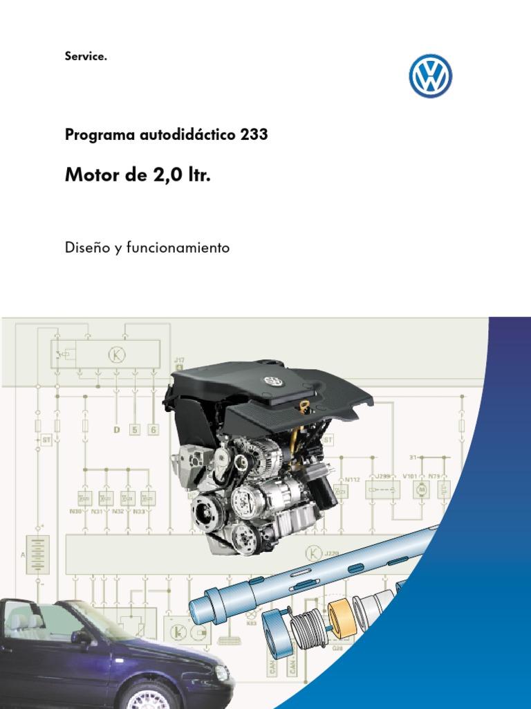 Manual Vw Motor 2 0l Jetta Golf Passat Bettle 1 Esp