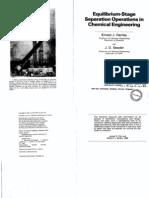 64967273 Henley E J Seader J D Equilibrium Stage Separation