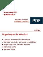 Aula_11 - Organizaç¦o da Memória