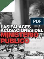 Las Falaces Acusaciones del Ministerio Público