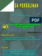 Penatalaksanaan Persalinan Kala III(Prof. Tmh)