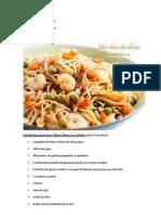 Fideos Chinos (Receta de Cocina)