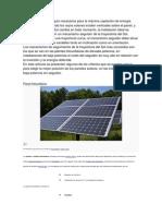 La inclinación y el angulo necesarios para la máxima captación de energía solar se alcanza1