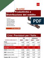 IV Rapporto Ires Cgil - Salari in crisi - marzo 2009