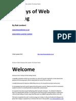 36 Days of Web Testing