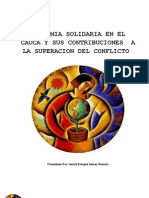 Economia Solidaria y Sus Aportes Al Conflicto